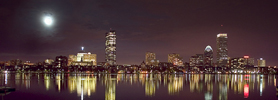 Boston Skyline free ecard